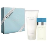 Beauté Femme Eau de toilette D&G Coffret Light Blue - Eau de toilette 50 ml + Lait corps parent