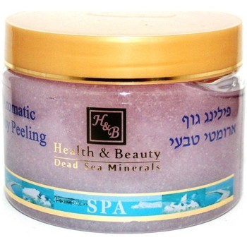 Beauté Femme Gommages & peelings Health And Beauty - Dead Sea Min Peeling corporel aromatisé à la lavande - 450 gr Autres