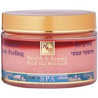 Beauté Femme Gommages & peelings Health And Beauty - Dead Sea Min Mer Morte Cosmétique H&B - Peeling corporel aromatisé à la rose parent