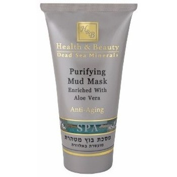Beauté Femme Masques & gommages Health And Beauty - Dead Sea Min Masque de boue purifiant à l'aloe vera - 150 ml Autres