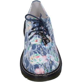 Chaussures Fille Ville basse Enrico Coveri COVERI élégantes bleu textile AG247 bleu