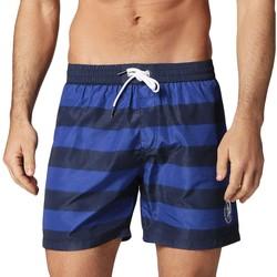 Vêtements Homme Maillots / Shorts de bain Diesel Bain Maillot de bain homme à rayures Wave bleu Bleu