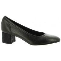 Chaussures Femme Escarpins Elizabeth Stuart Escarpins cuir laminé Noir