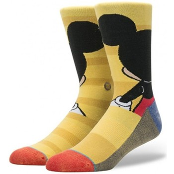 Accessoires Homme Chaussettes Stance Chaussettes  Disney Mens Mickey - Yellow Jaune