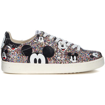 Chaussures Femme Baskets basses Moa - Master Of Arts Sneaker MoA Mickey Mouse in glitter multicolori Multicolor