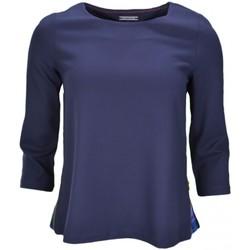 Vêtements Femme Pulls Tommy Hilfiger Pull viscose  Maxime bleu marine pour femme Bleu
