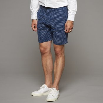 Vêtements Homme Shorts / Bermudas Suit FIRST Bleu