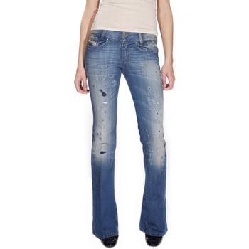 Vêtements Femme Jeans bootcut Diesel LOUVELY Bleu