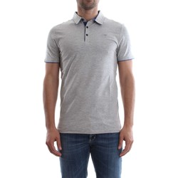 Vêtements Homme Polos manches courtes Guess M82P00 J1300 PAUL POLO Homme GREY HEATHER GREY HEATHER