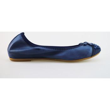 Chaussures Femme Ballerines / babies Cruz chaussures femme  ballerines bleu cuir daim AG314 bleu