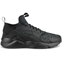 Chaussures Homme Baskets basses Nike Air Huarache Run Ultra Se Noir Noir