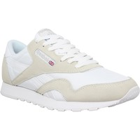 Chaussures Homme Baskets basses Reebok Sport Classic Nylon toile Homme Blanc Blanc