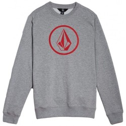 Vêtements Garçon Sweats Volcom Sweat  Stone Crew - Grey Gris