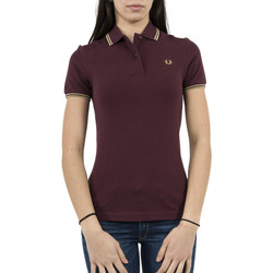 Vêtements Femme Polos manches courtes Fred Perry polos  g3600 rouge rouge
