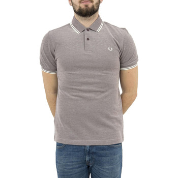 Vêtements Homme Polos manches courtes Fred Perry polos  mm3600 gris gris
