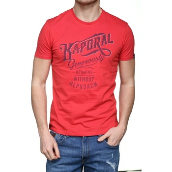 Vêtements Homme T-shirts manches courtes Kaporal Tanja Cramberry Rouge