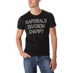 Vêtements Homme T-shirts manches courtes Kaporal T-Shirt Homme JAKE Noir Noir