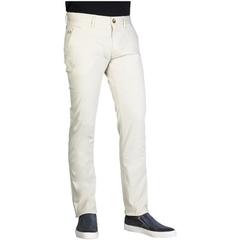 Vêtements Homme Chinos / Carrots La Martina - Pantalon chino homme gris clair Gris