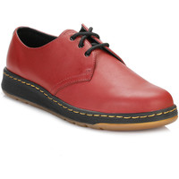 Chaussures Chaussures de travail Dr Martens Cherry Red Cavendish 3 Eye Shoes Dr Martens_661