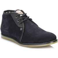 Chaussures Garçon Boots Penguin Mens Navy Legal Suede Boots Penguin_4