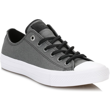 Chaussures Femme Baskets basses Converse All Star Womens Black Ox Shield Canvas Trainers Converse_1018