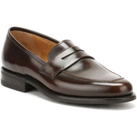 Chaussures Garçon Mocassins Loake Mens Dark Brown Leather 211 Loafers Loake_105
