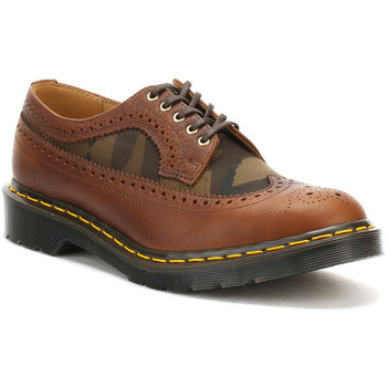 Chaussures Garçon Derbies Dr Martens Dr. Martens Mens Dark Tan Made in England 3989 Brogue Shoes Ted Baker_737