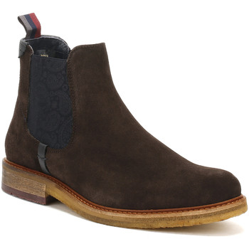 Chaussures Garçon Boots Ted Baker Mens Brown Suede Bronzo Ankle Boots Ted Baker_403