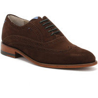 Chaussures Garçon Richelieu Oliver Sweeney Mens Brown Suede Fellbeck Shoes Oliver Sweeney_37