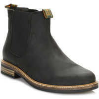 Chaussures Garçon Boots Barbour Mens Black Farsley Chelsea Boots Barbour_80