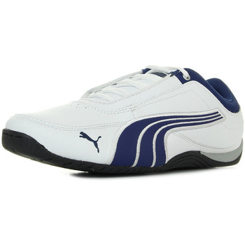 Chaussures Garçon Baskets basses Puma Drift cat 4 leather  jr blanc