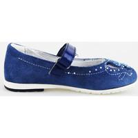 Chaussures Fille Ballerines / babies Didiblu chaussures fille DIDI bleu ballerines bleu daim AG487 bleu