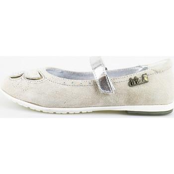 Chaussures Fille Ballerines / babies Didiblu ballerines gris daim AG489 gris