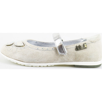Chaussures Fille Ballerines / babies Didiblu chaussures fille DIDI bleu ballerines gris daim AG489 gris