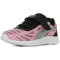Chaussures Fille Baskets basses Puma Meteor V Ps rose