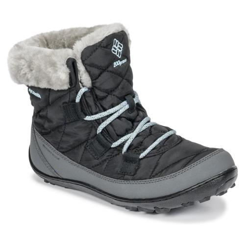 Chaussures Enfant Bottes de neige Columbia YOUTH MINX SHORTY OMNI-HEAT™ WATERPROOF Noir