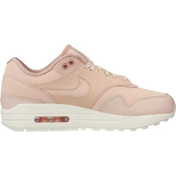 Chaussures Femme Baskets basses Nike AIR MAX 1 PRM Rose