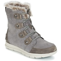 Chaussures Femme Bottes de neige Sorel SOREL™ EXPLORER JOAN Gris