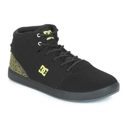 Chaussures Enfant Baskets montantes DC Shoes CRISIS HIGH SE B SHOE BK9 Noir / Vert