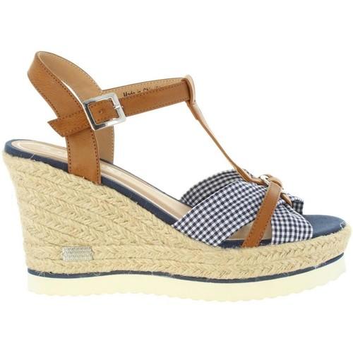 Sprox 395603-B6600 Marrón - Chaussures Sandale Femme