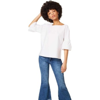 Blouses Esprit blusa 3/4 blanca mujer