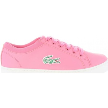 Chaussures Femme Baskets basses Lacoste 35CAJ0024 STRAIGHTSET Rosa