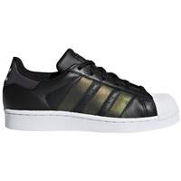 Chaussures Enfant Baskets basses adidas Originals Superstar Noir