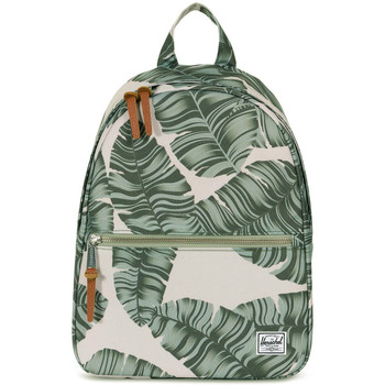 Sac à dos Herschel Settlement Mid Volume fille Silver Birch Palm blanc