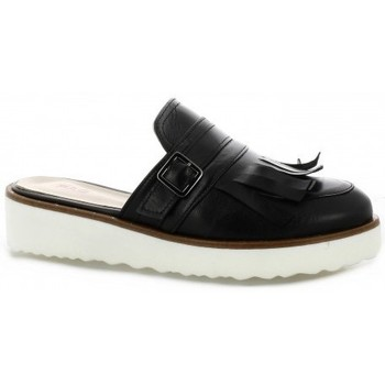 Chaussures Femme Mules Pao Mules cuir Noir