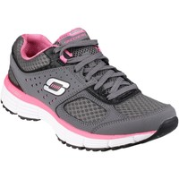 Chaussures Femme Fitness / Training Skechers Agility Perfect Fit Trainer Grey