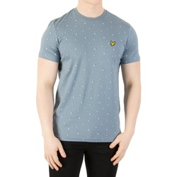 Vêtements Homme T-shirts manches courtes Lyle & Scott Homme T-shirt d'impression de beachball, Bleu bleu