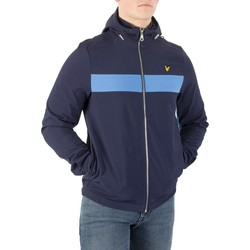 Vêtements Homme Coupes vent Lyle & Scott Homme Casuals Softshell Block Jacket, Bleu bleu