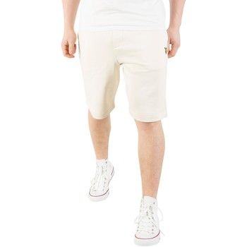 Vêtements Homme Shorts / Bermudas Lyle & Scott Homme Logo Sweat Shorts, Beige beige
