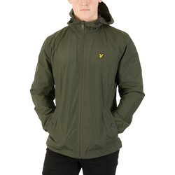 Vêtements Homme Vestes Lyle & Scott Homme Zip Bien Hooded Jacket, Vert vert